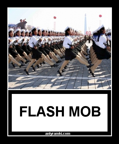 flash mob   FLASH MOB