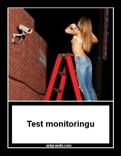 Monitoring    - Test monitoringu